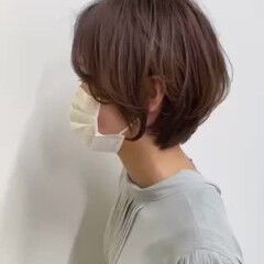 ナチュラル 大人ショート ショートヘア 小顔ショート ヘアスタイルや髪型の写真・画像