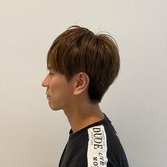 メンズ ノースタイリング 美シルエット ショート ヘアスタイルや髪型の写真・画像