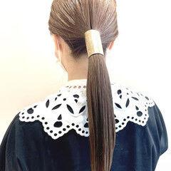 ロング ナチュラル可愛い レイヤーロングヘア ナチュラル ヘアスタイルや髪型の写真・画像