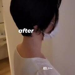 ショート ショートヘア コンパクトショート ハンサムショート ヘアスタイルや髪型の写真・画像
