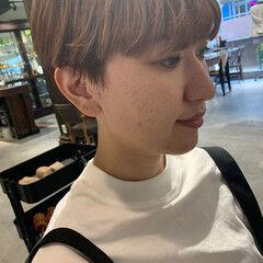 モード ショートボブ ショート 大人ショート ヘアスタイルや髪型の写真・画像