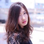 アッシュ モテ髪 外国人風カラー エレガント