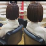 ナチュラル 髪質改善 ボブ 艶髪