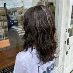 ロング 大人カラー 大人女子 ナチュラル ヘアスタイルや髪型の写真・画像