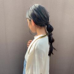 子供 簡単 キッズ ナチュラル ヘアスタイルや髪型の写真・画像