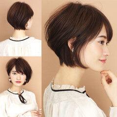 辺見えみり ナチュラル ショート 田丸麻紀 ヘアスタイルや髪型の写真・画像