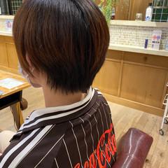 ナチュラル ショートヘア ショート ショートボブ ヘアスタイルや髪型の写真・画像