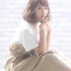 大人女子 色気 かわいい 小顔 ヘアスタイルや髪型の写真・画像