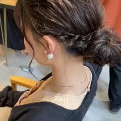 ミニボブ 切りっぱなしボブ レイヤーカット アンニュイほつれヘア ヘアスタイルや髪型の写真・画像