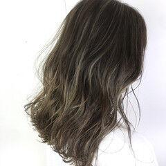 美容師ピックアップ オシャレ ハイライト ミディアム ヘアスタイルや髪型の写真・画像