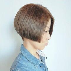 ショート モード ハンサムショート ヘアスタイルや髪型の写真・画像