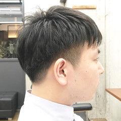 メンズカット 刈り上げショート マッシュショート ショート ヘアスタイルや髪型の写真・画像