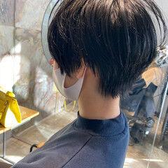 ショートヘア 比留川游 ショート 黒髪ショート ヘアスタイルや髪型の写真・画像