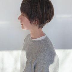 ナチュラル ウルフカット ショートヘア ショート ヘアスタイルや髪型の写真・画像