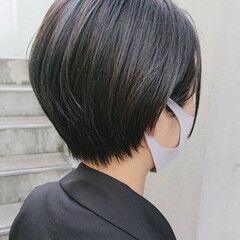 ベリーショート ショート ショートヘア ハイライト ヘアスタイルや髪型の写真・画像