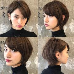 ショート ナチュラル 30代 吉瀬美智子 ヘアスタイルや髪型の写真・画像