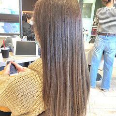 グラデーションカラー ナチュラルグラデーション アッシュグラデーション ナチュラル ヘアスタイルや髪型の写真・画像
