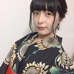 浴衣アレンジ フェミニン ミディアム 黒髪
