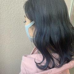 ナチュラル 暗髪女子 外国人風カラー 暗髪 ヘアスタイルや髪型の写真・画像