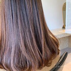 前髪パーマ ワンカールパーマ 毛先パーマ ナチュラル ヘアスタイルや髪型の写真・画像