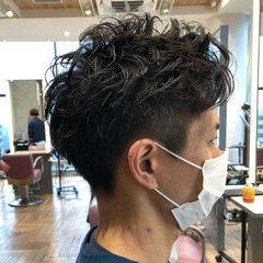 メンズヘア ベリーショート ショートヘア ナチュラル ヘアスタイルや髪型の写真・画像