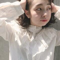 エレガント 透明感カラー 透明感 デート ヘアスタイルや髪型の写真・画像