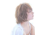 外国人風 レイヤーカット ナチュラル モテ髪