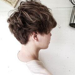 ツーブロック ショート メンズカット ストリート ヘアスタイルや髪型の写真・画像