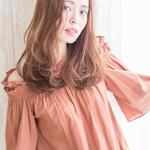 セミロング モテ髪 ナチュラル ヘアアレンジ