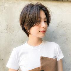 ショートヘア 丸みショート ベリーショート ウルフカット ヘアスタイルや髪型の写真・画像