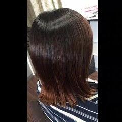 髪質改善 ミディアム 髪質改善トリートメント トリートメント ヘアスタイルや髪型の写真・画像