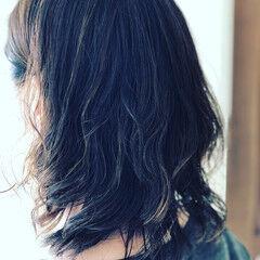切りっぱなしボブ ナチュラル ショートヘア ウルフカット ヘアスタイルや髪型の写真・画像