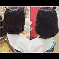 社会人の味方 ミディアム 大人ヘアスタイル オフィス ヘアスタイルや髪型の写真・画像