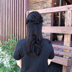 大人可愛い ゆるふわパーマ ヘアアレンジ ロング ヘアスタイルや髪型の写真・画像
