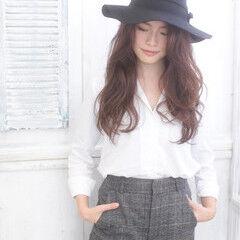 コンサバ 大人女子 ロング 外国人風 ヘアスタイルや髪型の写真・画像