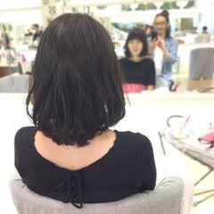 フェミニン ウィッグ ボブ ヘアスタイルや髪型の写真・画像