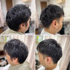 メンズカット スキンフェード ツーブロック ストリート ヘアスタイルや髪型の写真・画像