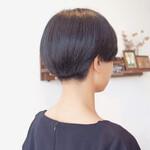 小顔ショート モード ショート 刈り上げ女子