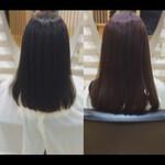 ヘアケア 髪質改善カラー 髪質改善 ミディアム