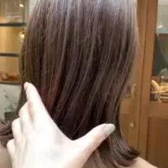 ボブ グラデーションカラー 春 ゆるふわ ヘアスタイルや髪型の写真・画像