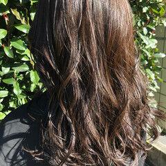 ナチュラル モテ髪 簡単スタイリング 大人ミディアム ヘアスタイルや髪型の写真・画像