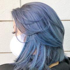 ハイトーンカラー ハイライト ナチュラル ハイトーンボブ ヘアスタイルや髪型の写真・画像