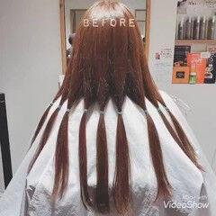 ミディアム デート ヘアドネーション ゆるふわ ヘアスタイルや髪型の写真・画像