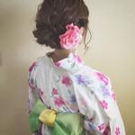 花火大会 結婚式 秋 大人かわいい