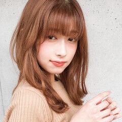 ミディアム 大人かわいい デート 大人女子 ヘアスタイルや髪型の写真・画像