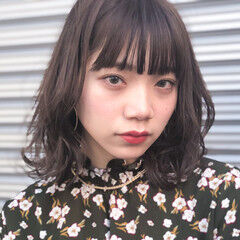 福岡市 ナチュラル ナチュラルブラウンカラー ボブ ヘアスタイルや髪型の写真・画像