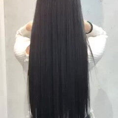 ナチュラル トリートメント ロング 艶髪 ヘアスタイルや髪型の写真・画像