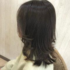 ナチュラル ミディアム 外国人風カラー 外国人風フェミニン ヘアスタイルや髪型の写真・画像