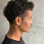 ショート メンズスタイル メンズパーマ メンズヘア