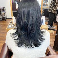 タンバルモリ レイヤーカット ミディアム ナチュラル ヘアスタイルや髪型の写真・画像